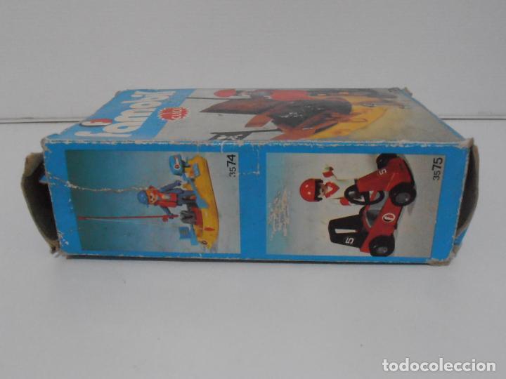 Playmobil: PIRATA CON BARCA, FAMOBIL, REF 3570, CAJA ORIGINAL, COMPLETO - Foto 8 - 215746761