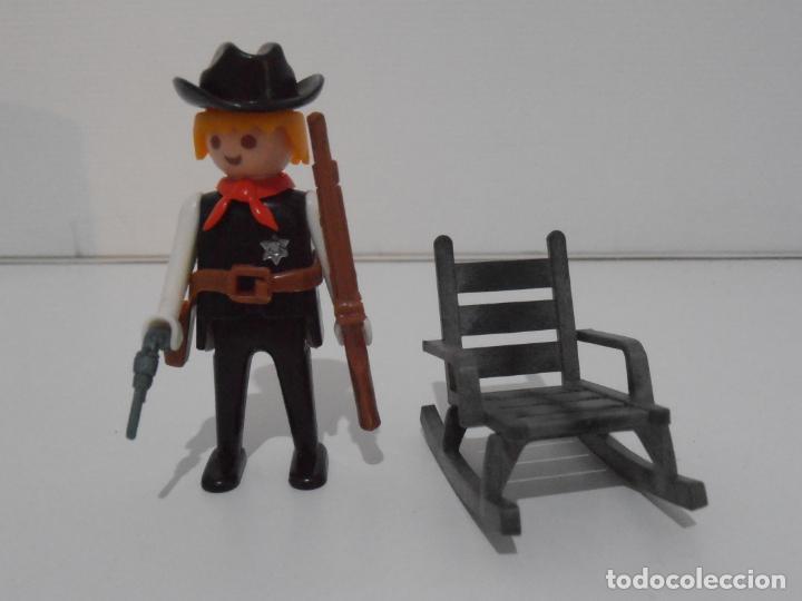 Playmobil: SHERIFF OESTE, PLAYMOBIL, REF 3341, CAJA ORIGINAL, COMPLETO - Foto 3 - 215747951