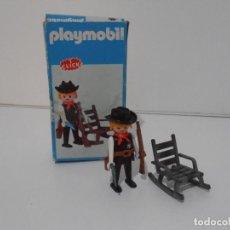 Playmobil: SHERIFF OESTE, PLAYMOBIL, REF 3341, CAJA ORIGINAL, COMPLETO. Lote 215747951
