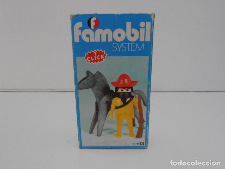 Playmobil: MEXICANO CON CABALLO, FAMOBIL, REF 3343, CAJA ORIGINAL, COMPLETO - Foto 2 - 215748645