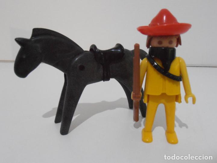 Playmobil: MEXICANO CON CABALLO, FAMOBIL, REF 3343, CAJA ORIGINAL, COMPLETO - Foto 3 - 215748645