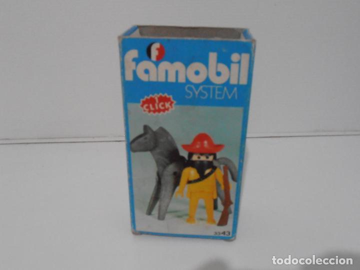 Playmobil: MEXICANO CON CABALLO, FAMOBIL, REF 3343, CAJA ORIGINAL, COMPLETO - Foto 8 - 215748645
