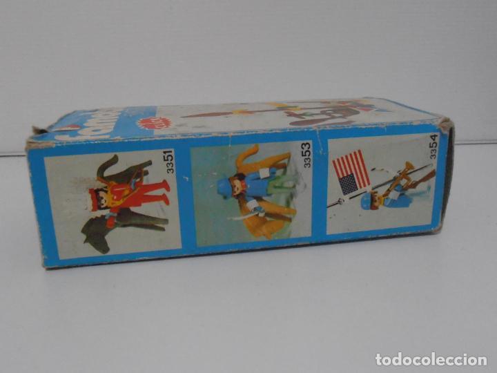 Playmobil: INDIO CON CANOA, FAMOBIL, REF 3352, CAJA ORIGINAL, COMPLETO - Foto 8 - 215748971