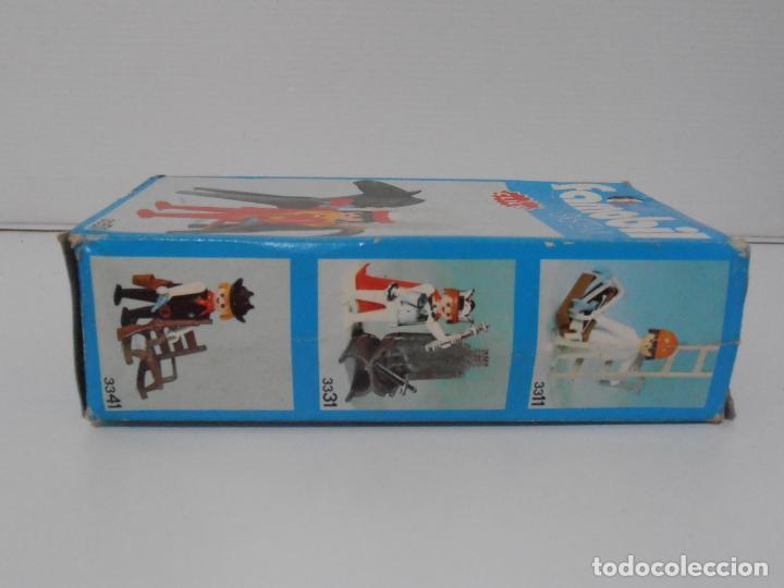 Playmobil: INDIO CON CABALLO, FAMOBIL, REF 3351, CAJA ORIGINAL, COMPLETO - Foto 6 - 215749662