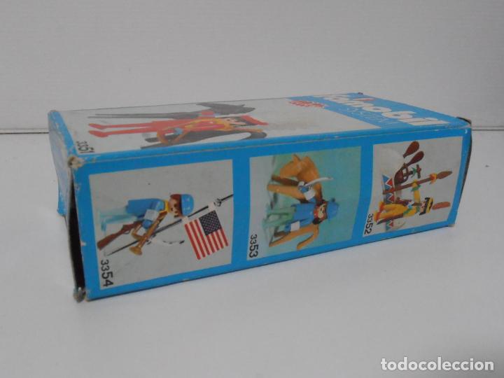 Playmobil: INDIO CON CABALLO, FAMOBIL, REF 3351, CAJA ORIGINAL, COMPLETO - Foto 8 - 215749662