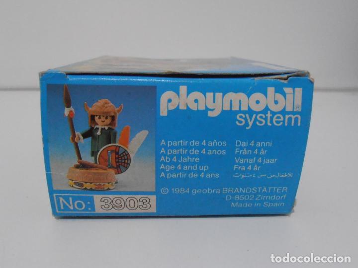 Playmobil: INDIO CON TAMBOR, PLAYMOBIL, REF 3903, CAJA ORIGINAL, CASI COMPLETO - Foto 7 - 215750457