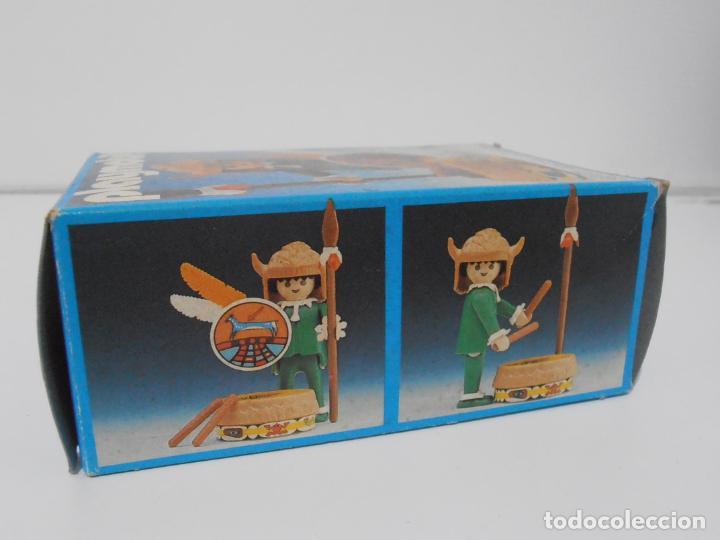 Playmobil: INDIO CON TAMBOR, PLAYMOBIL, REF 3903, CAJA ORIGINAL, CASI COMPLETO - Foto 8 - 215750457