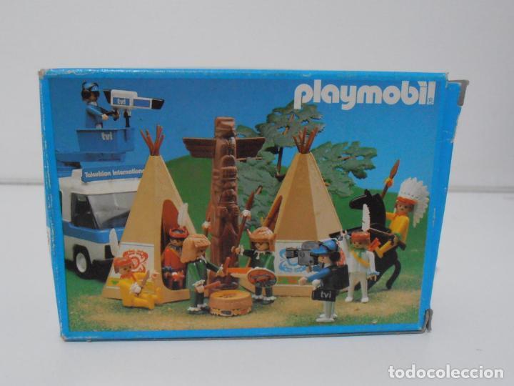 Playmobil: INDIO CON TAMBOR, PLAYMOBIL, REF 3903, CAJA ORIGINAL, CASI COMPLETO - Foto 9 - 215750457