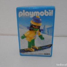 Playmobil: CHICA SNOW, PLAYMOBIL, REF 3683, CAJA ORIGINAL, NUEVO SIN ABRIR. Lote 215751276