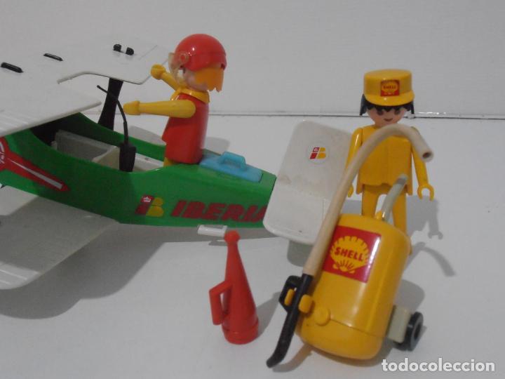 Playmobil: AVIONETA, FAMOBIL, REF 3246, CAJA ORIGINAL, COMPLETO SOLO FALTA PAÑOLETA CUELLO - Foto 4 - 215812996