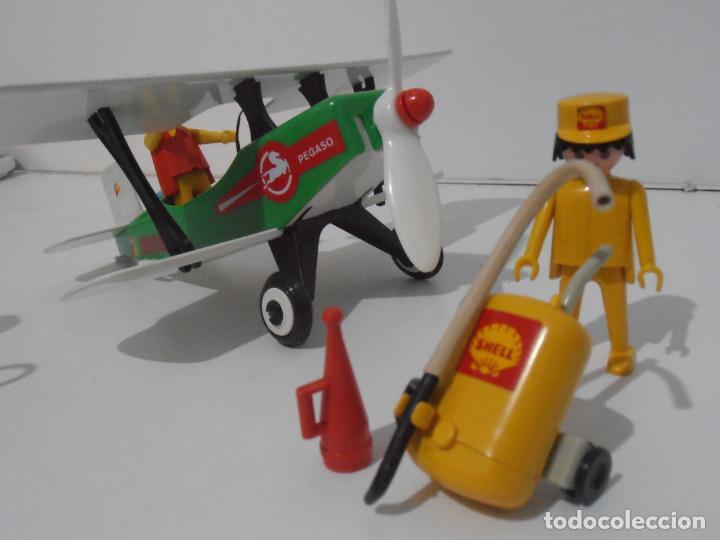 Playmobil: AVIONETA, FAMOBIL, REF 3246, CAJA ORIGINAL, COMPLETO SOLO FALTA PAÑOLETA CUELLO - Foto 6 - 215812996