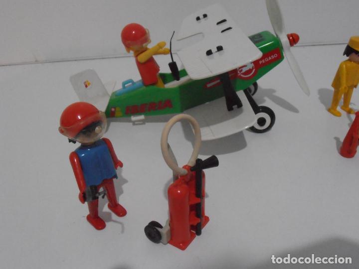 Playmobil: AVIONETA, FAMOBIL, REF 3246, CAJA ORIGINAL, COMPLETO SOLO FALTA PAÑOLETA CUELLO - Foto 7 - 215812996