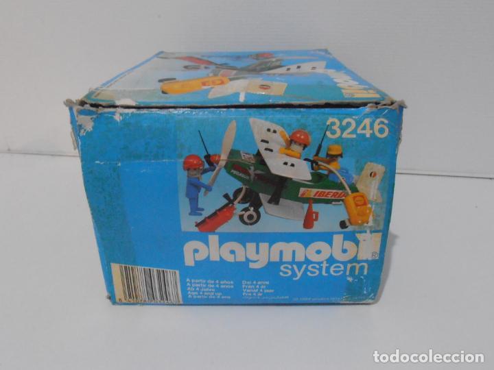Playmobil: AVIONETA, FAMOBIL, REF 3246, CAJA ORIGINAL, COMPLETO SOLO FALTA PAÑOLETA CUELLO - Foto 9 - 215812996