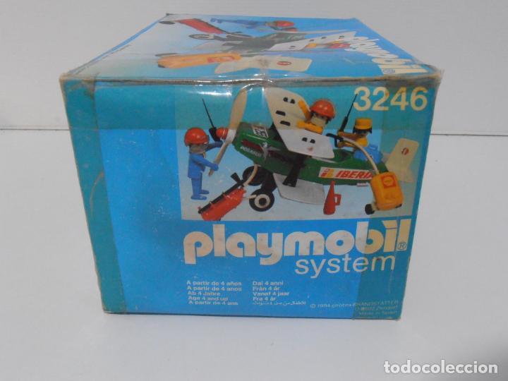 Playmobil: AVIONETA, FAMOBIL, REF 3246, CAJA ORIGINAL, COMPLETO SOLO FALTA PAÑOLETA CUELLO - Foto 11 - 215812996