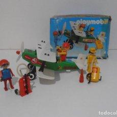Playmobil: AVIONETA, FAMOBIL, REF 3246, CAJA ORIGINAL, COMPLETO SOLO FALTA PAÑOLETA CUELLO. Lote 215812996