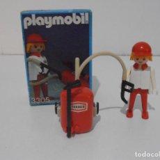 Playmobil: GASOLINERO, PLAYMOBIL, REF 3305, CAJA ORIGINAL, COMPLETO. Lote 215813403