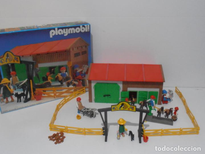 Playmobil: GRANJA DE PONNIES, PLAYMOBIL, REF 3436, CAJA ORIGINAL, COMPLETO - Foto 2 - 215814442