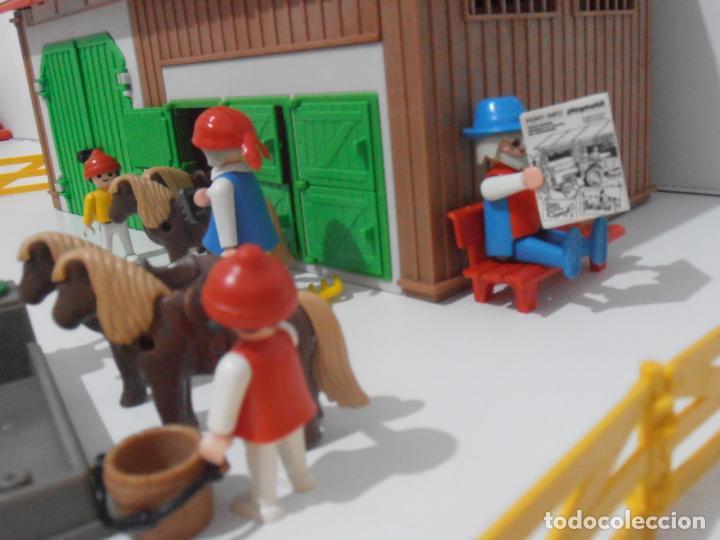Playmobil: GRANJA DE PONNIES, PLAYMOBIL, REF 3436, CAJA ORIGINAL, COMPLETO - Foto 3 - 215814442