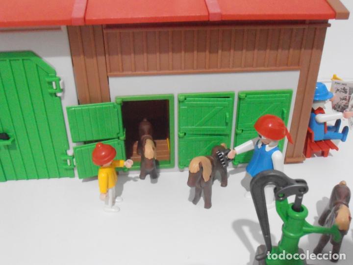 Playmobil: GRANJA DE PONNIES, PLAYMOBIL, REF 3436, CAJA ORIGINAL, COMPLETO - Foto 5 - 215814442