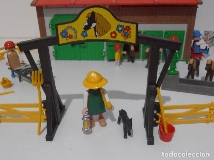 Playmobil: GRANJA DE PONNIES, PLAYMOBIL, REF 3436, CAJA ORIGINAL, COMPLETO - Foto 7 - 215814442