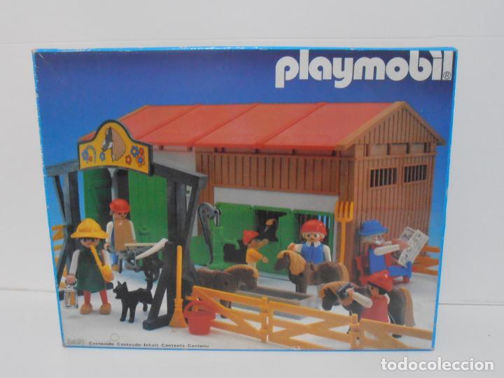 Playmobil: GRANJA DE PONNIES, PLAYMOBIL, REF 3436, CAJA ORIGINAL, COMPLETO - Foto 10 - 215814442