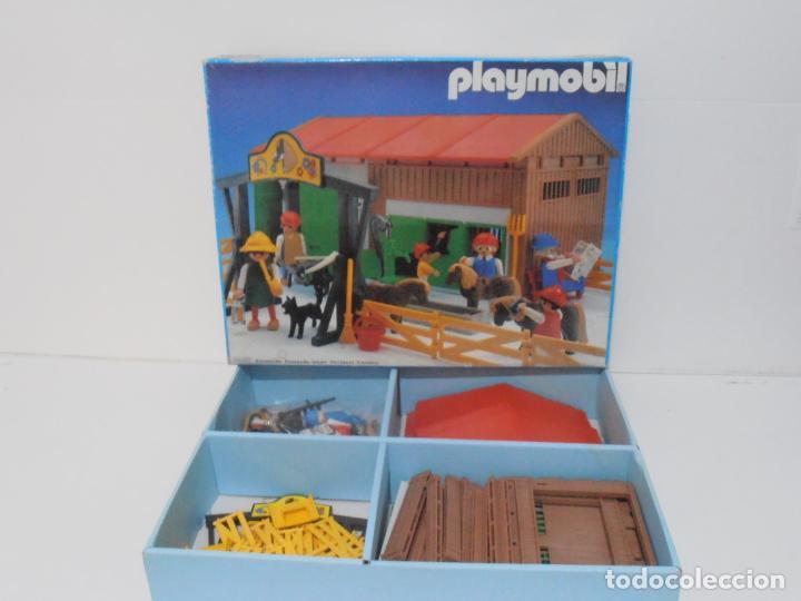 Playmobil: GRANJA DE PONNIES, PLAYMOBIL, REF 3436, CAJA ORIGINAL, COMPLETO - Foto 17 - 215814442