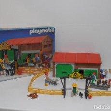 Playmobil: GRANJA DE PONNIES, PLAYMOBIL, REF 3436, CAJA ORIGINAL, COMPLETO. Lote 215814442