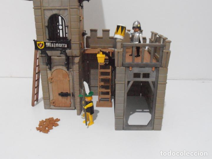 Playmobil: TORREON MAZMORRA, FAMOBIL, REF 3445, CAJA ORIGINAL, CASI COMPLETO - Foto 2 - 215815633