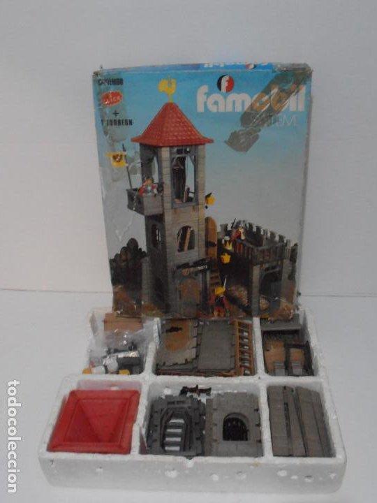Playmobil: TORREON MAZMORRA, FAMOBIL, REF 3445, CAJA ORIGINAL, CASI COMPLETO - Foto 14 - 215815633