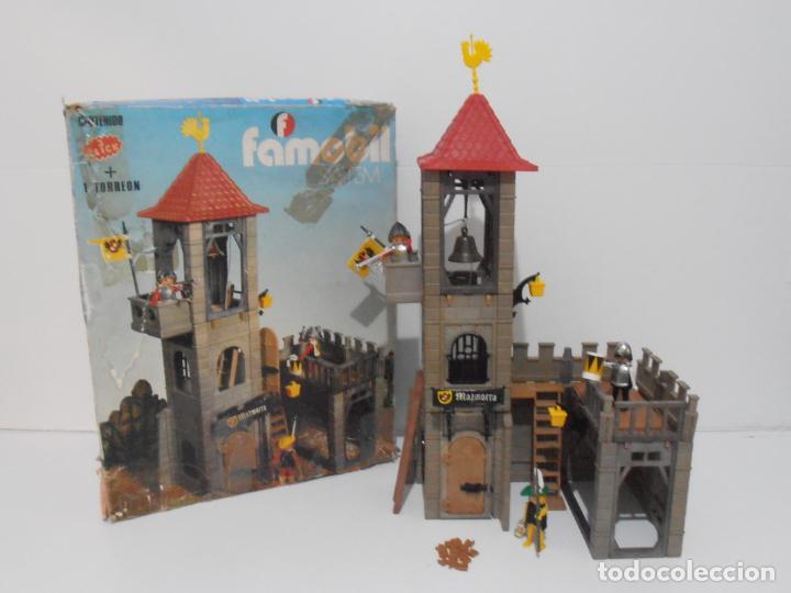 Playmobil: TORREON MAZMORRA, FAMOBIL, REF 3445, CAJA ORIGINAL, CASI COMPLETO - Foto 24 - 215815633