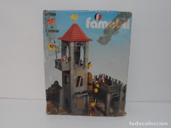 Playmobil: TORREON MAZMORRA, FAMOBIL, REF 3445, CAJA ORIGINAL, CASI COMPLETO - Foto 25 - 215815633