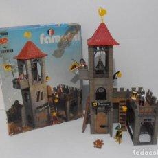 Playmobil: TORREON MAZMORRA, FAMOBIL, REF 3445, CAJA ORIGINAL, CASI COMPLETO. Lote 215815633