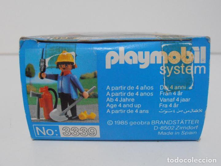 Playmobil: BOMBERO, PLAYMOBIL, REF 3339, CAJA ORIGINAL, COMPLETO - Foto 6 - 215816325