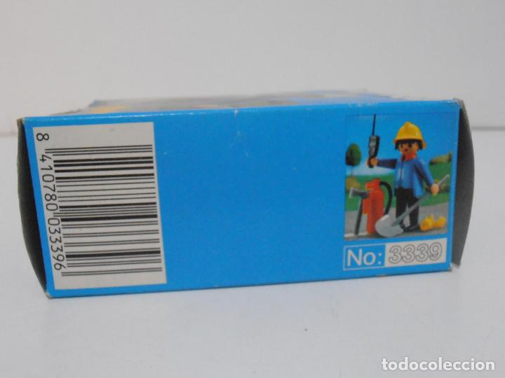 Playmobil: BOMBERO, PLAYMOBIL, REF 3339, CAJA ORIGINAL, COMPLETO - Foto 7 - 215816325