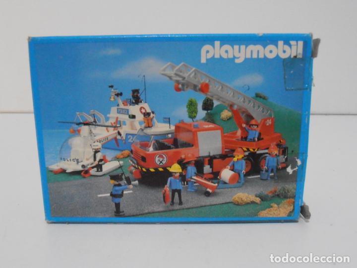 Playmobil: BOMBERO, PLAYMOBIL, REF 3339, CAJA ORIGINAL, COMPLETO - Foto 9 - 215816325
