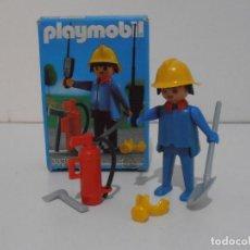 Playmobil: BOMBERO, PLAYMOBIL, REF 3339, CAJA ORIGINAL, COMPLETO. Lote 215816325