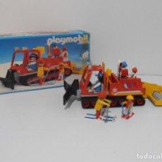 Playmobil: MAQUINA QUITANIEVES, PLAYMOBIL, REF 3469, CAJA ORIGINAL, COMPLETO SOLO FALTA BUFANDA. Lote 215816641
