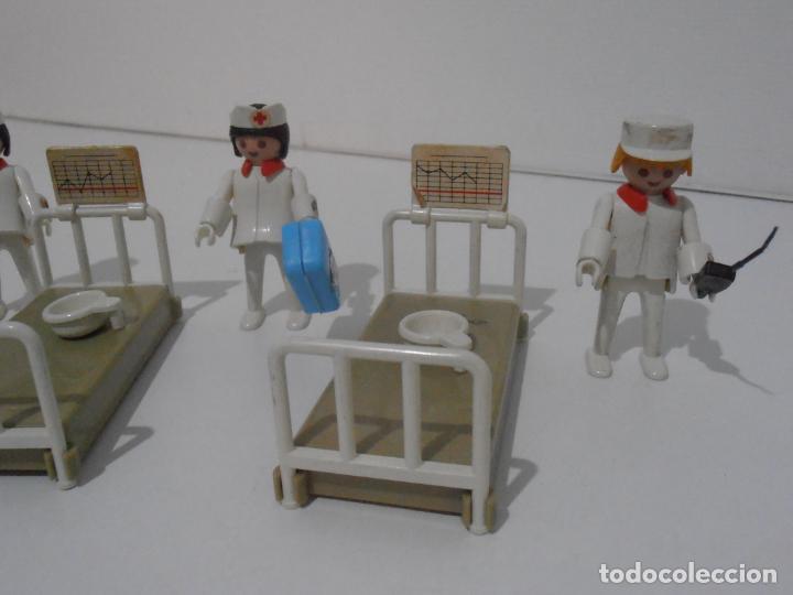 Playmobil: LOTE HOSPITAL MEDICOS, FAMOBIL, TODO LO QUE SE VE - Foto 2 - 215816937