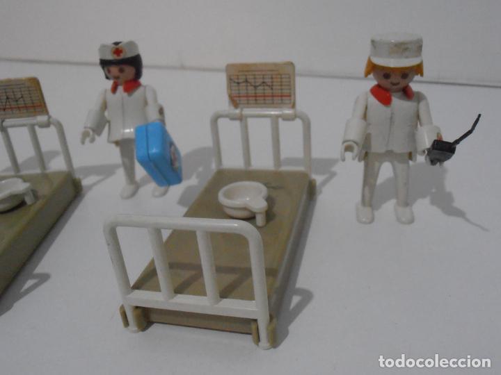 Playmobil: LOTE HOSPITAL MEDICOS, FAMOBIL, TODO LO QUE SE VE - Foto 6 - 215816937