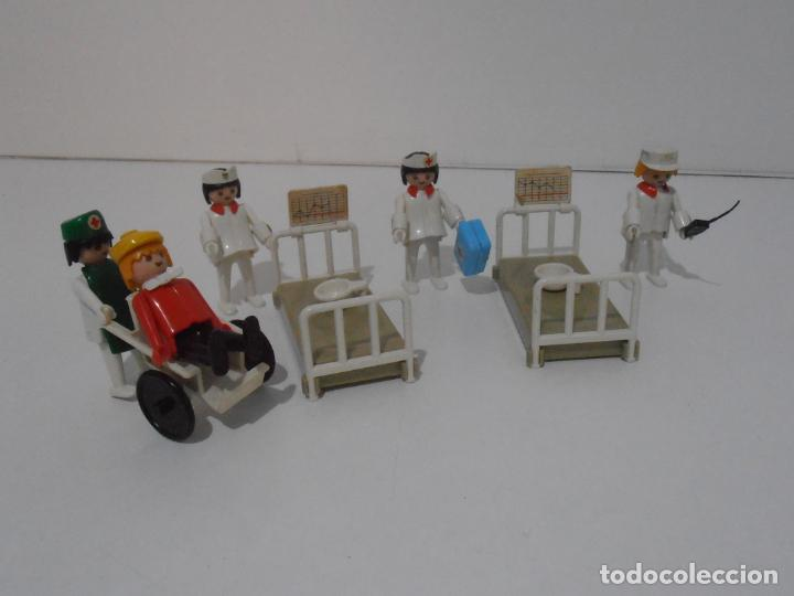 LOTE HOSPITAL MEDICOS, FAMOBIL, TODO LO QUE SE VE (Juguetes - Playmobil)