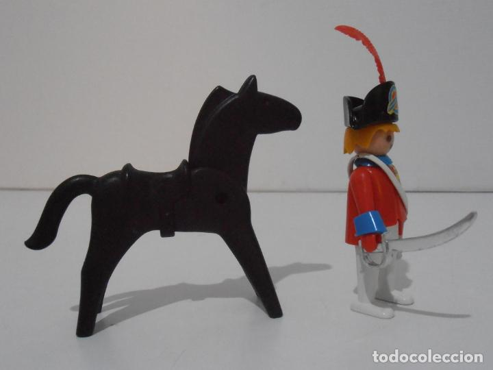Playmobil: CAPITAN NAPOLEONICO, REF. 3387, FAMOBIL, COMPLETO SIN CAJA - Foto 2 - 215817346