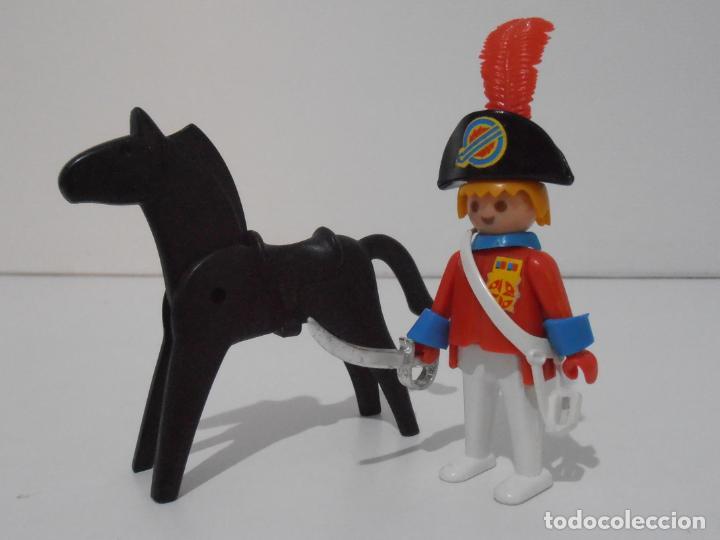 Playmobil: CAPITAN NAPOLEONICO, REF. 3387, FAMOBIL, COMPLETO SIN CAJA - Foto 3 - 215817346