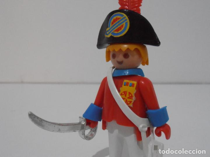 Playmobil: CAPITAN NAPOLEONICO, REF. 3387, FAMOBIL, COMPLETO SIN CAJA - Foto 4 - 215817346