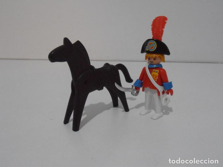 Playmobil: CAPITAN NAPOLEONICO, REF. 3387, FAMOBIL, COMPLETO SIN CAJA - Foto 5 - 215817346