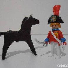 Playmobil: CAPITAN NAPOLEONICO, REF. 3387, FAMOBIL, COMPLETO SIN CAJA. Lote 215817346