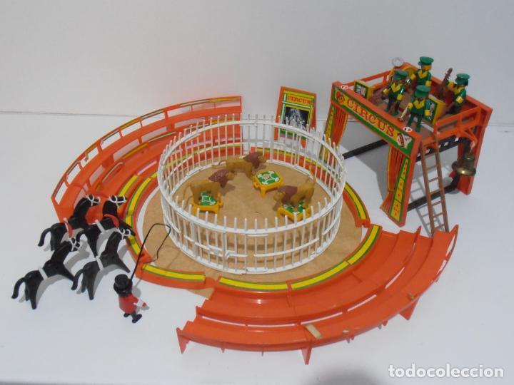 CIRCO, REF. 3194, FAMOBIL, CASI COMPLETO SIN CAJA, FALTAN ALGUNAS PIEZAS (Juguetes - Playmobil)