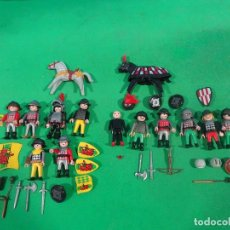 Playmobil: PLAYMOBIL-3123-CASTILLO-TORRE DE ASALTO-MEDIEVAL-SOLDADOS-CABALLEROS. Lote 217306036