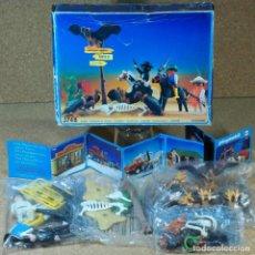 Playmobil: PLAYMOBIL 3748 COMPLETO CON CAJA, BANDIDOS DEL OESTE, WESTERN VAQUEROS. Lote 217660188