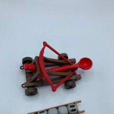 Playmobil: PLAYMOBIL LOTE CATAPULTA ROMANA LANZADOR PIEDRAS MÁS CAJÓN. Lote 217673702