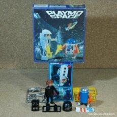 Playmobil: PLAYMOBIL 3591 CON ROBOT AZUL Y ASTRONAUTA NEGRO CON CAJA, PLAYMOSPACE SPACE NAVE ESPACIAL ESPACIO. Lote 218164697